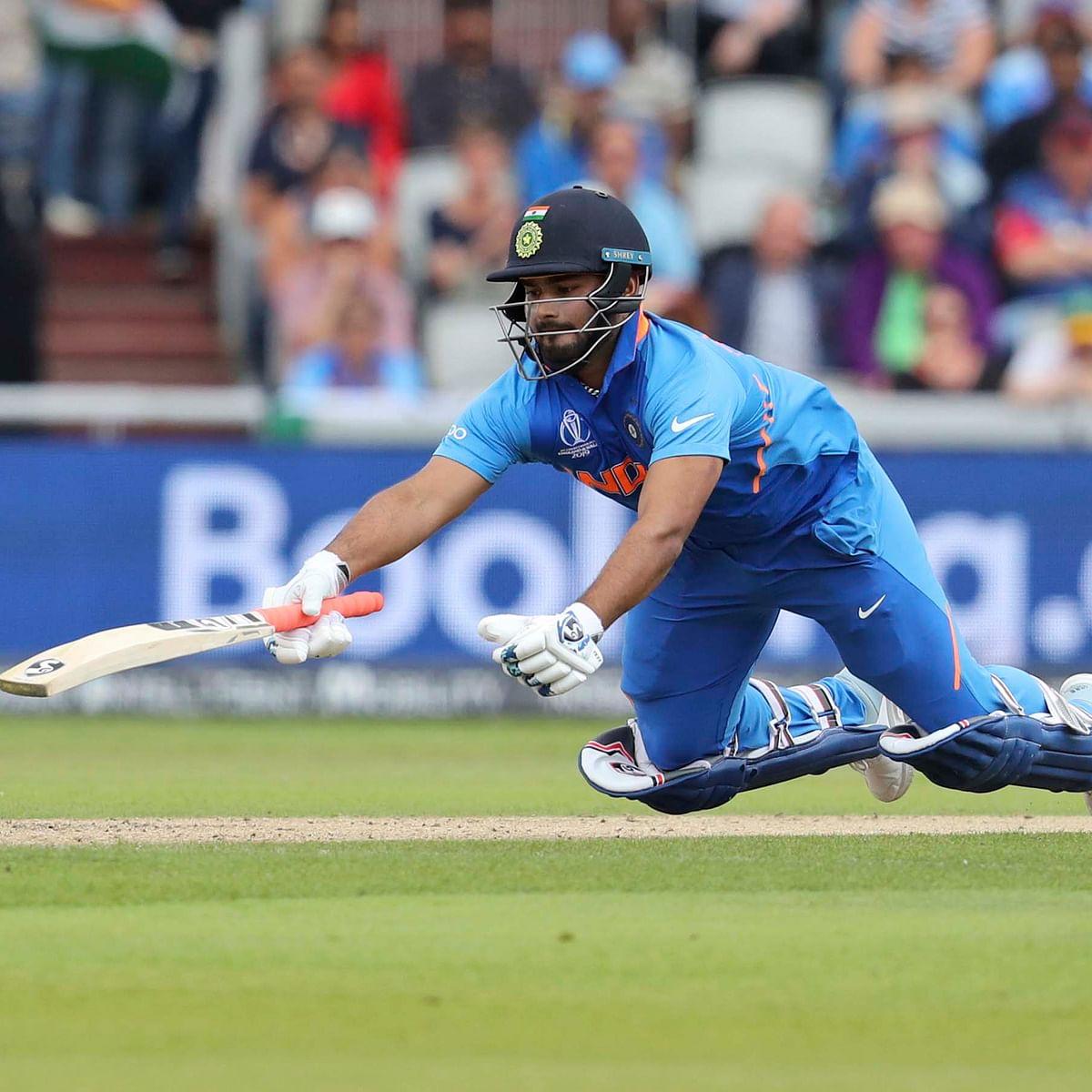 India vs New Zealand 1st Semi-Final: Rishab Pant Out on 32 runs, IND 71/5