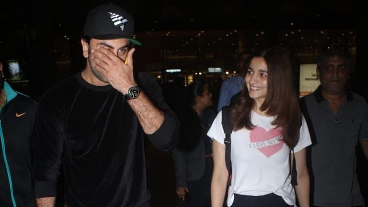 Watch Alia Bhatt amazed at Ranbir Kapoor's reaction to the paparazzi