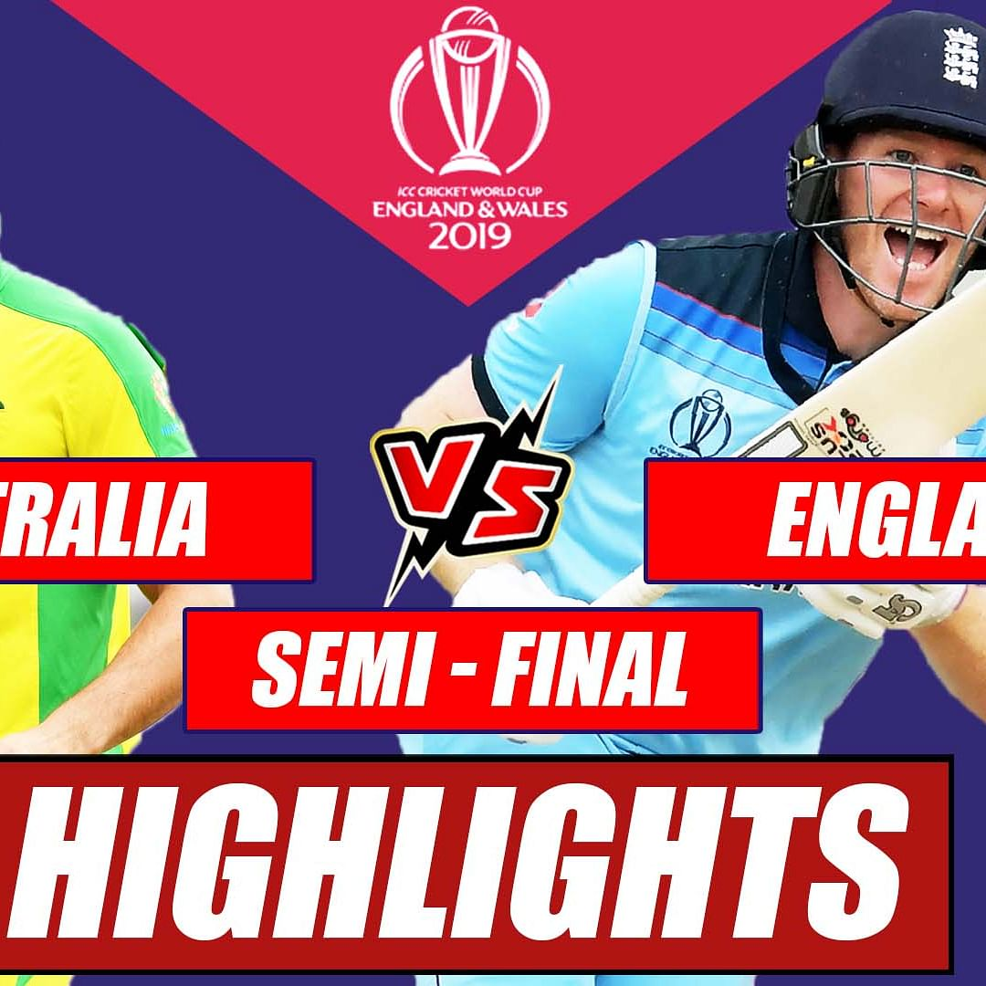 Australia vs England - Semi Final Match Highlights | England Beats Australia By 8 Wickets #CWC2019