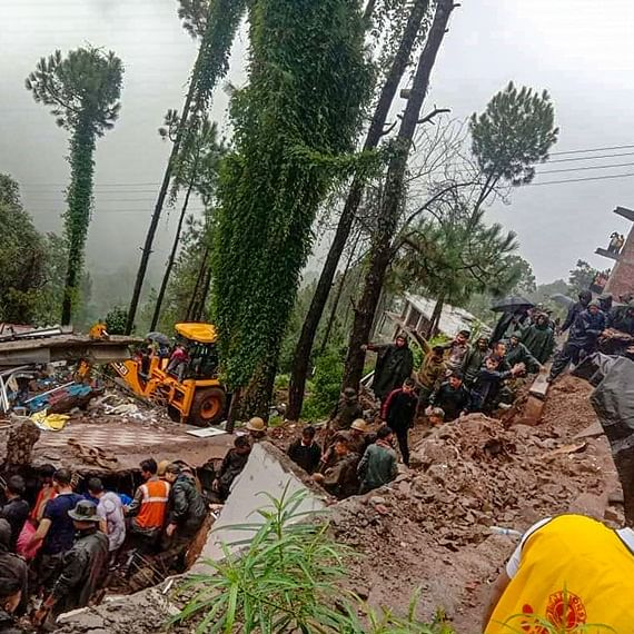 Himachal Pradesh: 7 people, including six Army personnel killed in building collapse in Solan