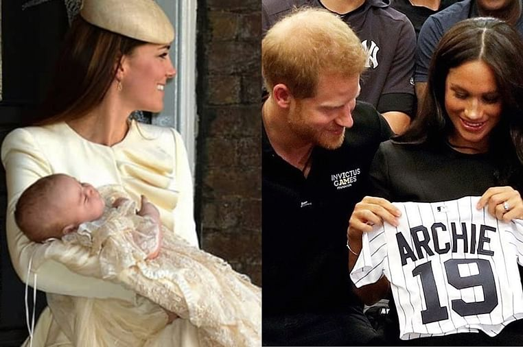Baby Archie will wear same robe as his cousins at christening