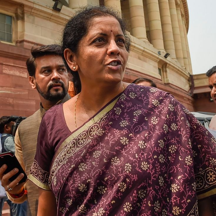 'We are not a suitcase-carrying government': Nirmala Sitharaman