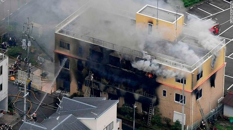33 dead in arson attack at Japan's animation studio