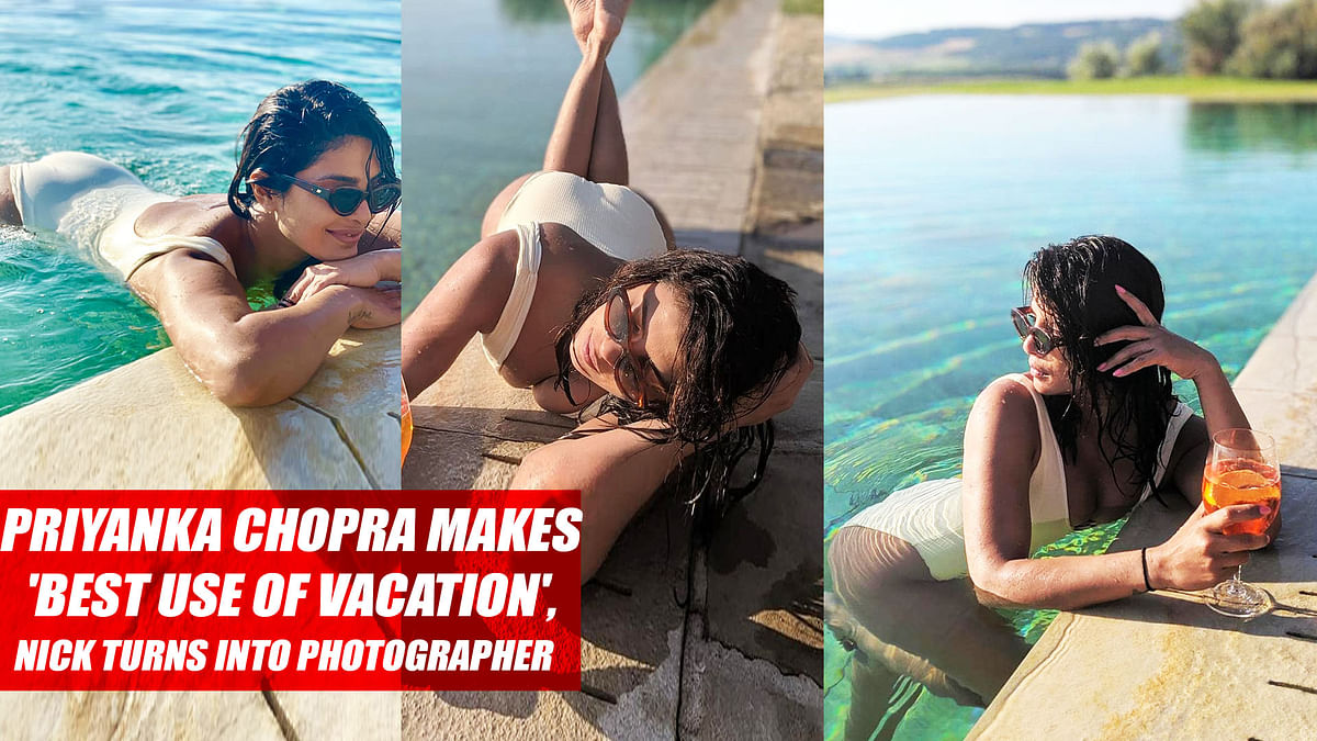 Priyanka Chopra Makes 'Best Use Of Vacation', Nick Turns Into Photographer