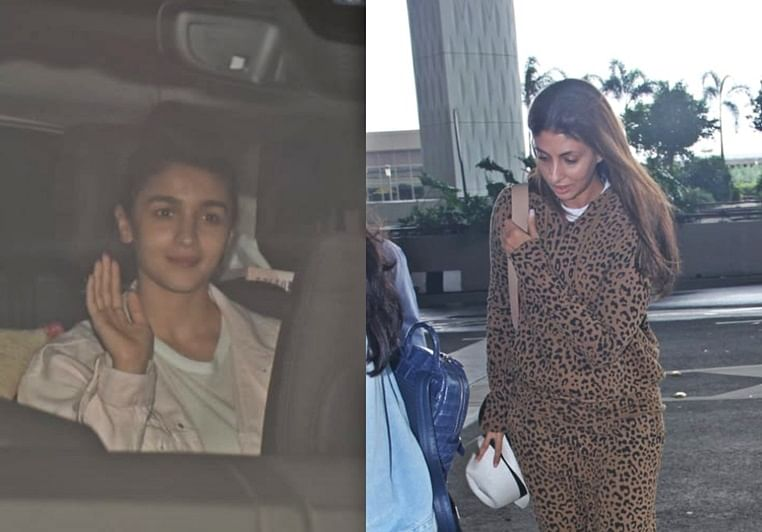 In Pics: Alia Bhatt, Shweta Bachchan Nanda and others spotted this weekend