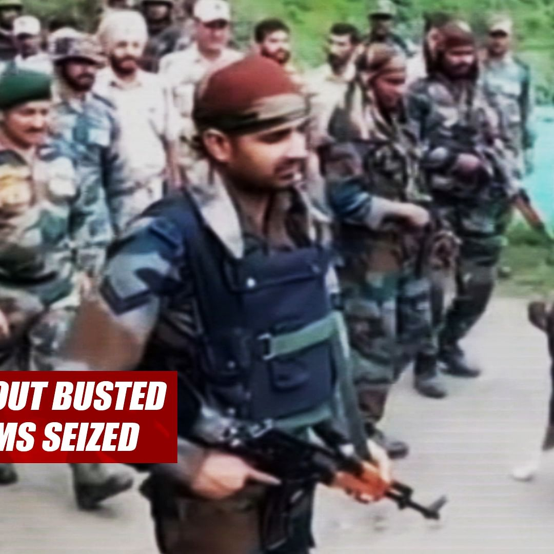 Terrorist Hideout Busted In J&K's Doda, Arms Seized