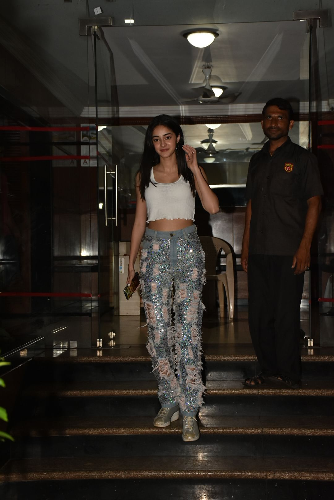 Ananya Panday snapped in the city