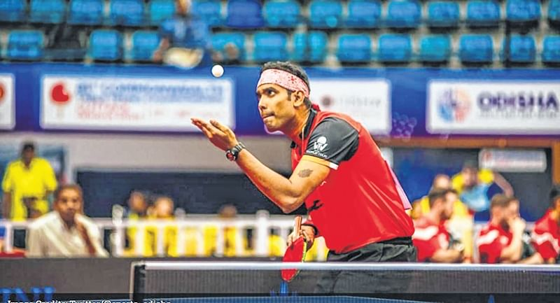 Commonwealth Table Tennis Championships: Indian men defend crown