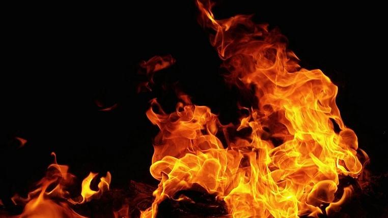 Mumbai: Fire breaks out at Maker Bhavan in Churchgate, 5 fire tenders at spot