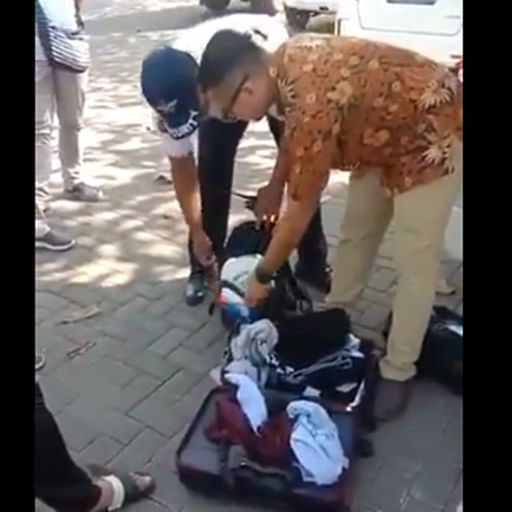 Indian family caught stealing items from Bali hotel, video goes viral