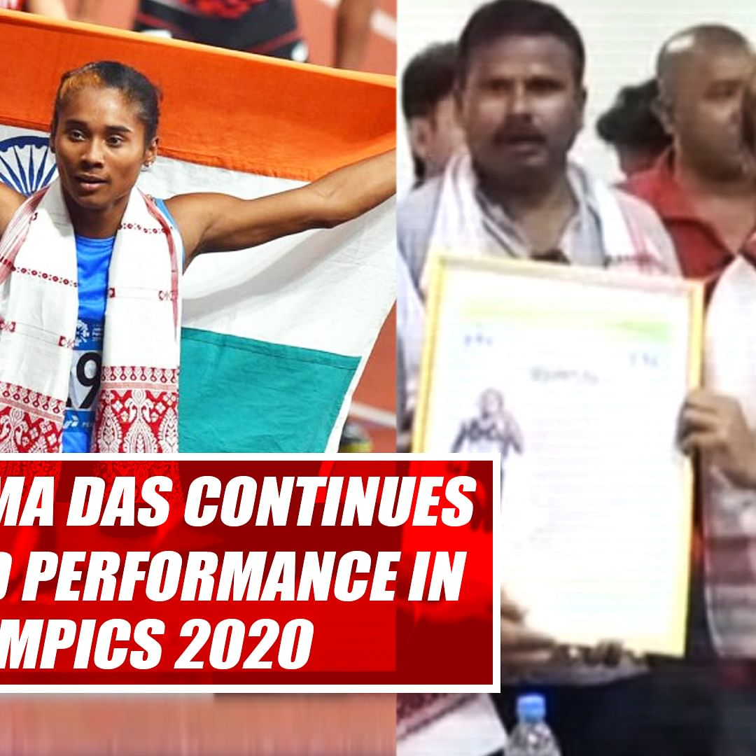 I Hope Hima Das Continues Her Good Performance In Olympics 2020, Says Her Coach