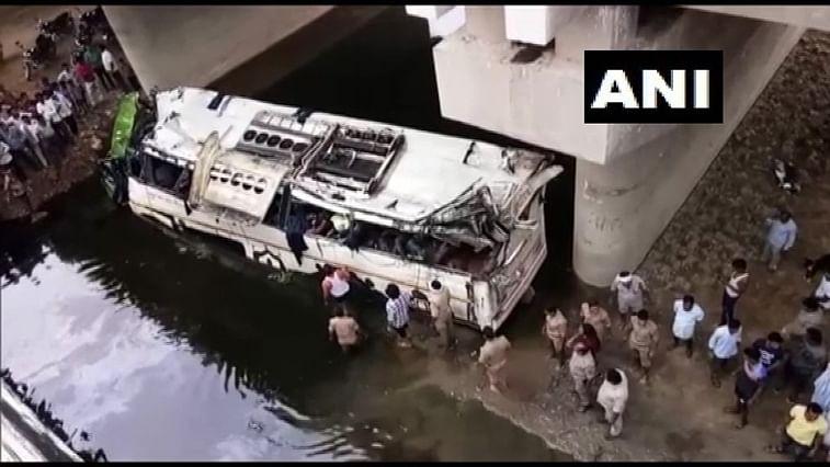 Yamuna Expressway bus accident