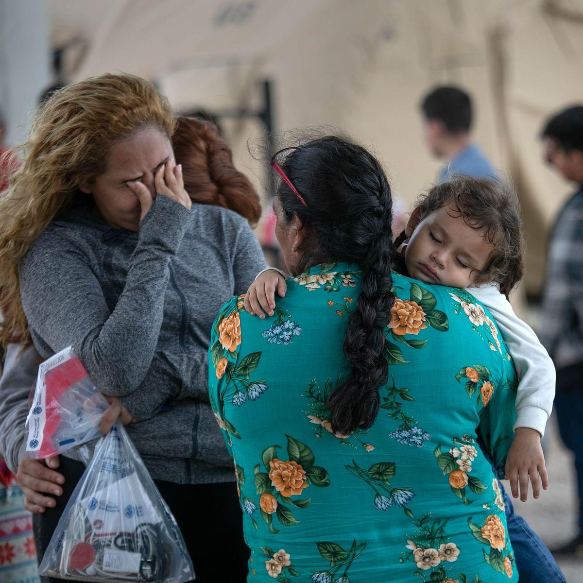 US officials search for Brazilian toddler who fell into Rio Grande