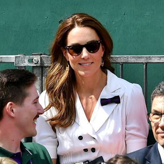 Kate Middleton reveals Prince George played tennis with Roger Federer!