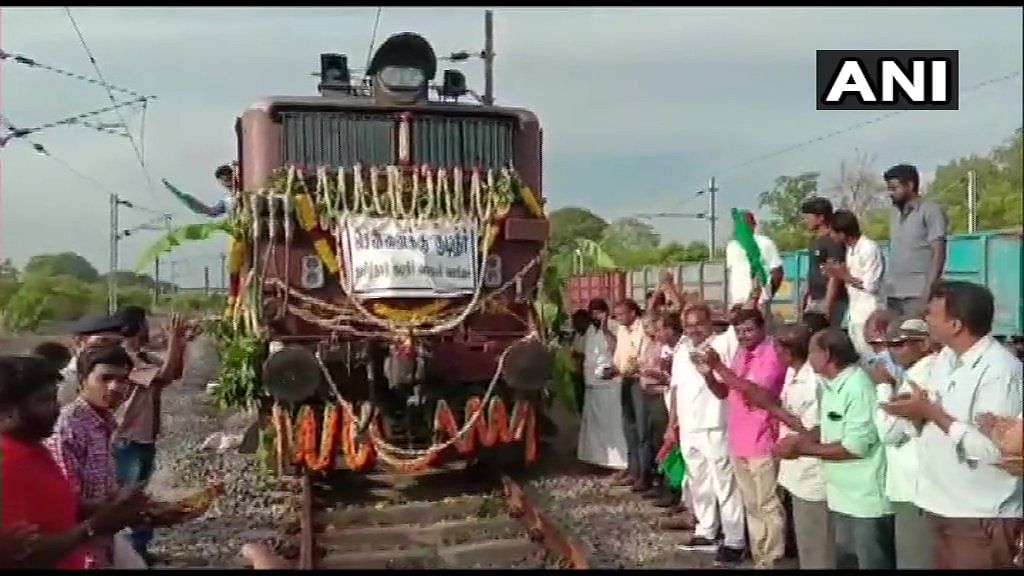 TN water crisis: Special water train to reach Chennai on Friday