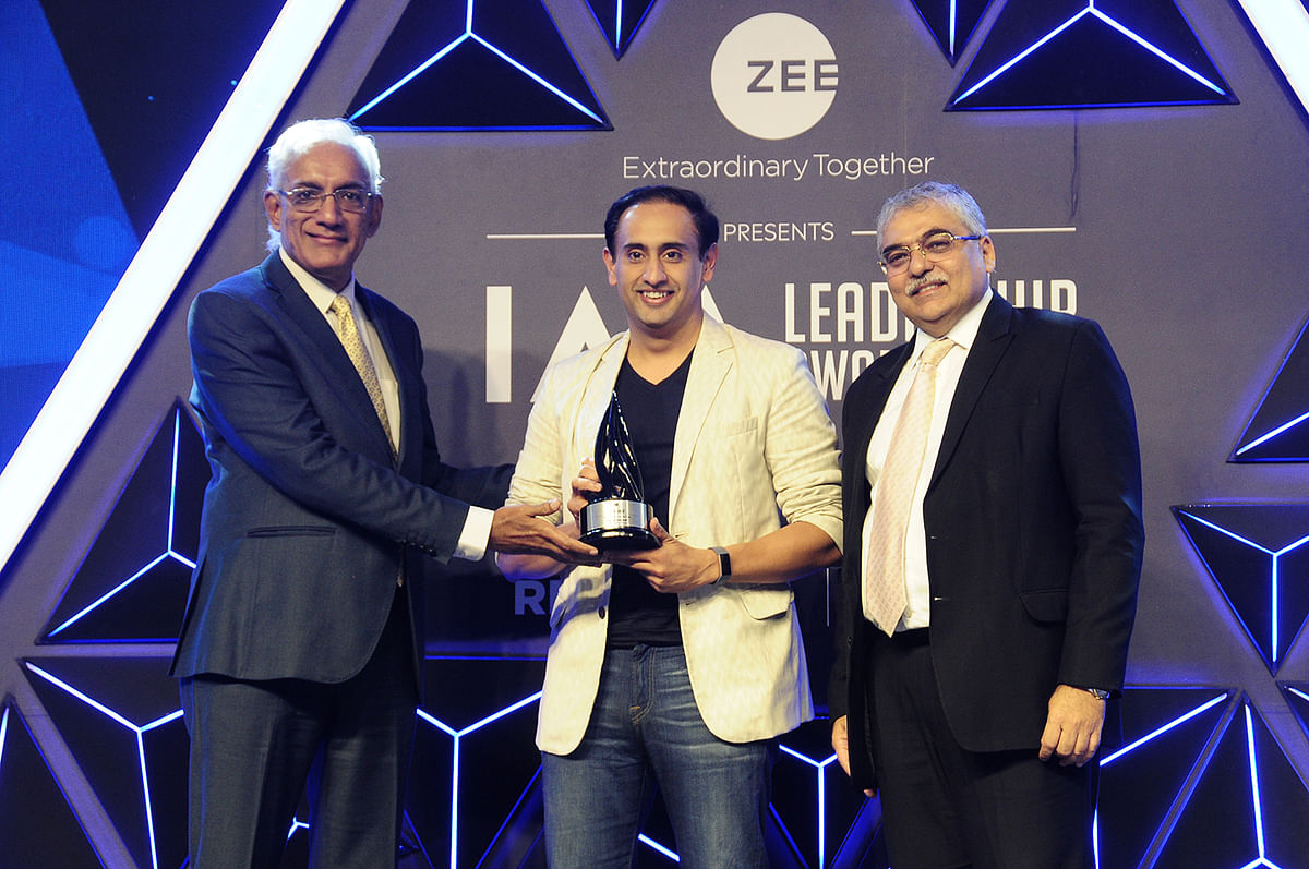 The IAA TV Anchor of the Year presented to Rahul Kanwal,  India Today Group