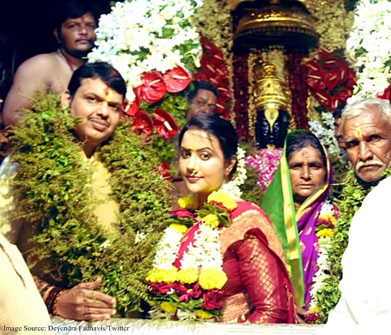 Fadnavis wins Maratha hearts, performs sarkari mahapuja at Pandharpur temple