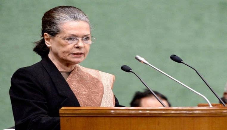 Sonia Gandhi to address Congress Lok Sabha MPS on Tuesday