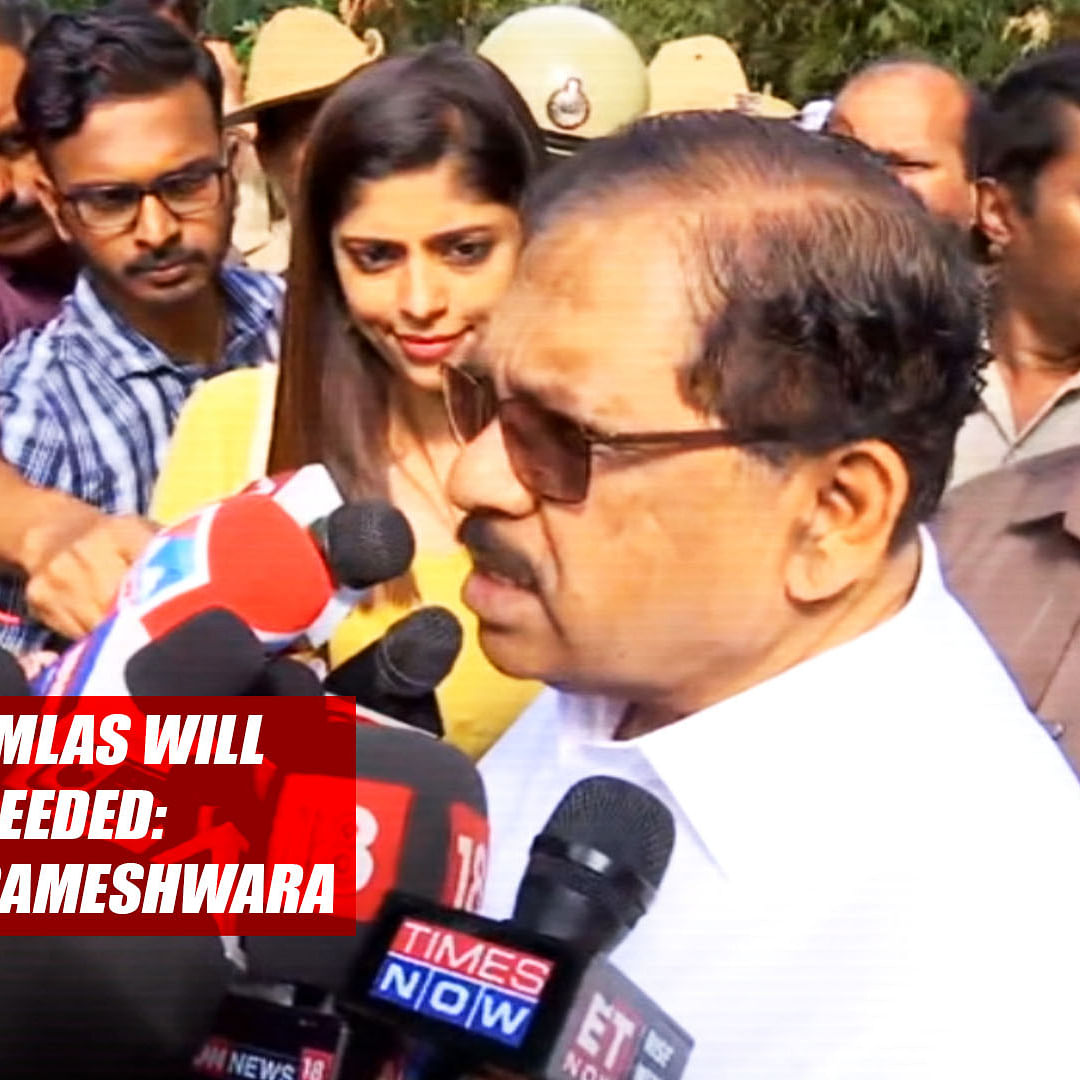 All Congress MLAs Will Resign If Needed: K'taka Dy CM Parameshwara