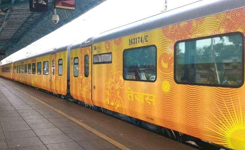 Free rail travel insurance of Rs 25 lakh each for passengers on board Delhi-Lucknow Tejas Express