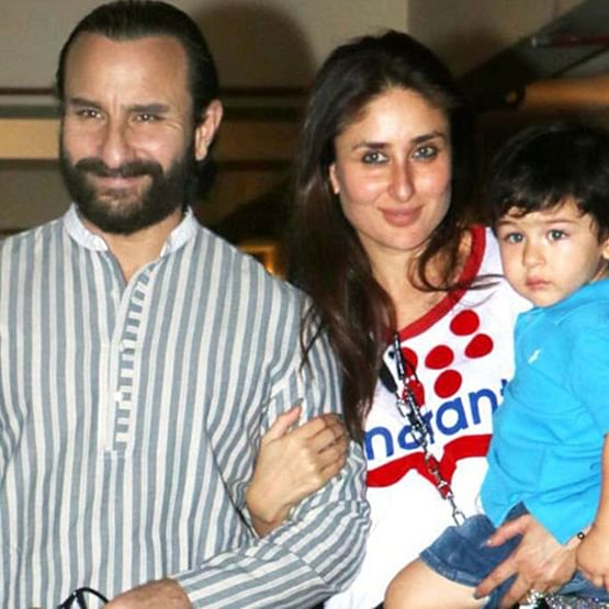 Watch Taimur and Saif Ali Khan bonding in this video, as Kareena poses with fans