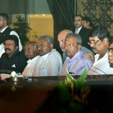 Rebel Congress-JD(S) MLAs fear 'threat' to life during Karnataka CM's proposed visit to Mumbai hotel