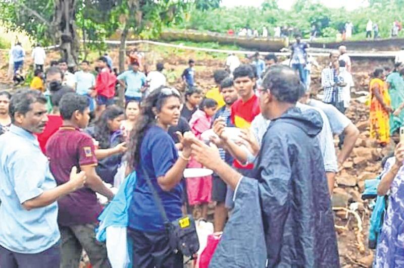 Local parish provides aid to victims
