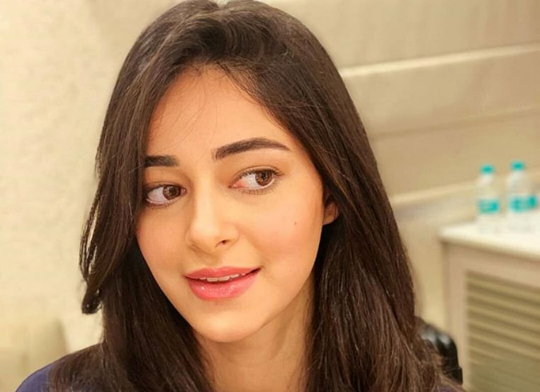 Ananya Panday begins the first schedule of Pati Patni Aur Woh with a smile