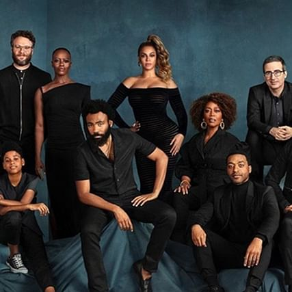 John Oliver confirms Beyonce was photoshopped in 'The Lion King' cast picture