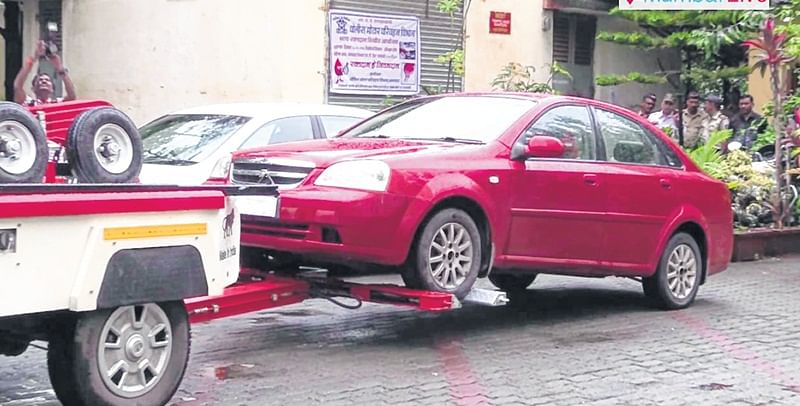 Day 1: Rs 1.80 lakh in parking fines
