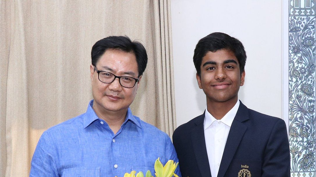 Arjun Bhati wins Junior World Golf Championship