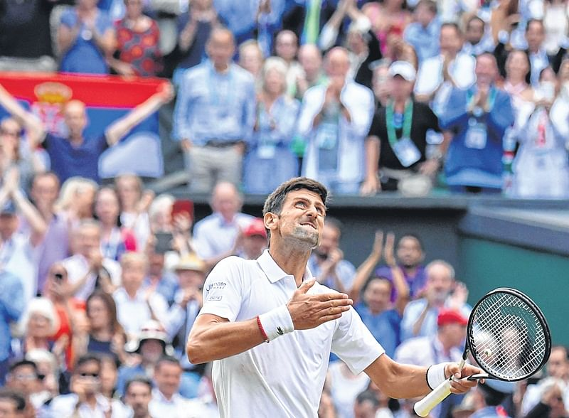Wimbledon: Novak Djokovic admits after 'toughest' Wimbledon win, that when crowd chant Roger Federer, he hears Novak Djokovic