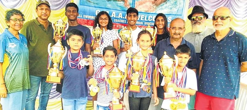 GMAAA: Aaryan, Bhosale rule the pool
