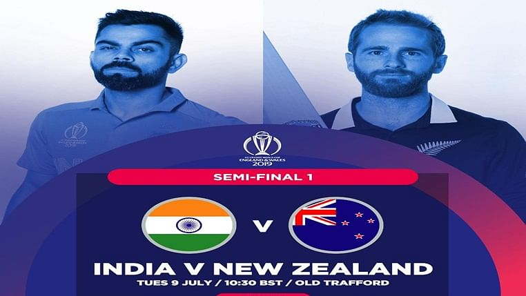 India vs New Zealand World Cup 2019 1st Semi-Final