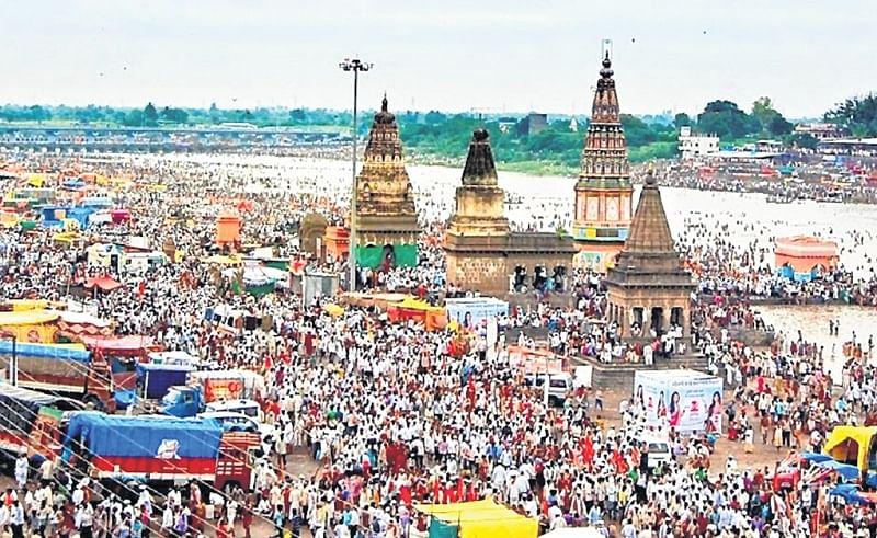 Vithoba devotees donate generously to their deity