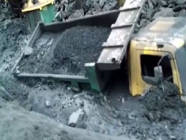 Mine collapsed at Bharatpur, Odisha