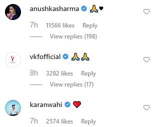 Anushka Sharma, Ranveer Singh comment on Virat Kohli's fan moment with 87-year-old