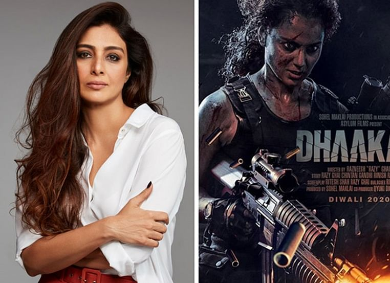 Tabu roped into Kangana Ranaut starrer action film 'Dhaakad'