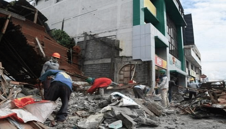 7.2-magnitude quake jolts Indonesia