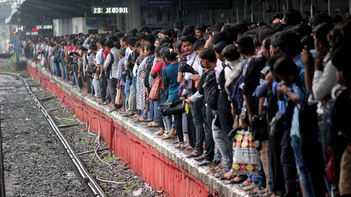 CR back on track but chaos on platforms, as trains are late