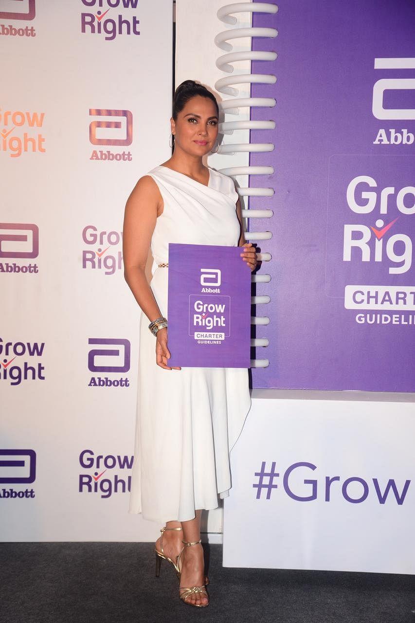 Lara Dutta at an event in Mumbai.