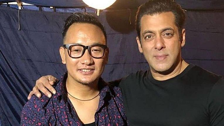 Salman Khan croons with 'Indian Idol' star Thupten