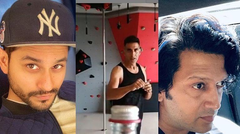 Watch Tiger Shroff, Kunal Kemmu, Riteish Deshmukh takes Bottle Cap Challenge to another level
