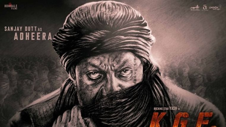 Sanjay Dutt turns 60, first look as Adheera in 'KGF: Chapter 2' revealed