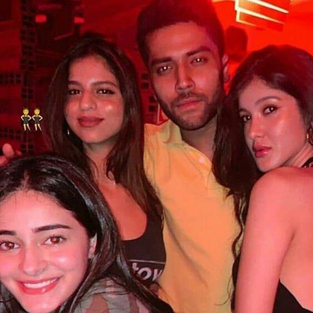Suhana Khan parties with besties Ananya Panday and Shanaya Kapoor on her Mumbai visit