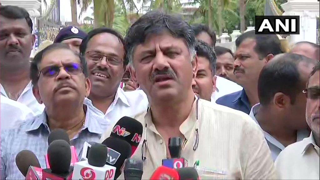 DK Shivakumar warns rebel MLAs of disqualification
