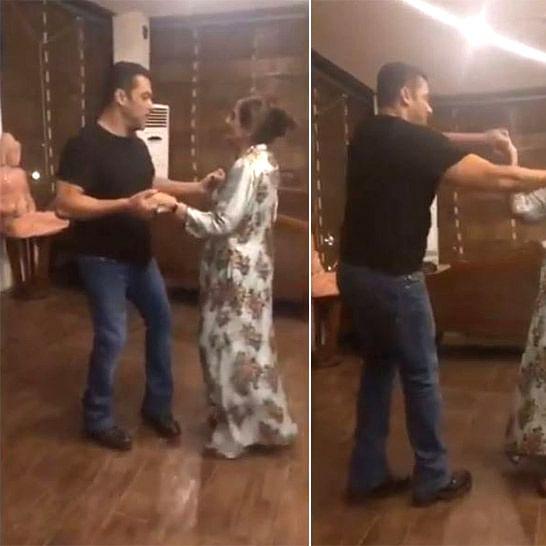 Salman Khan dancing with his mom Salma Khan is all things love