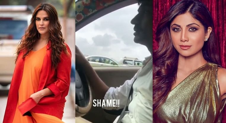 B-town celebs react to video of Taxi driver unzipping pants while ferrying a lady passenger