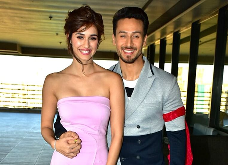 Rumoured couple Disha Patani and Tiger Shroff