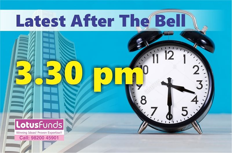 LATEST AFTER THE BELL: 29th August 2019(-97, 10948):*Nifty ends August series below 11,000 mark.